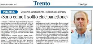 Cine-panettone L'Adige