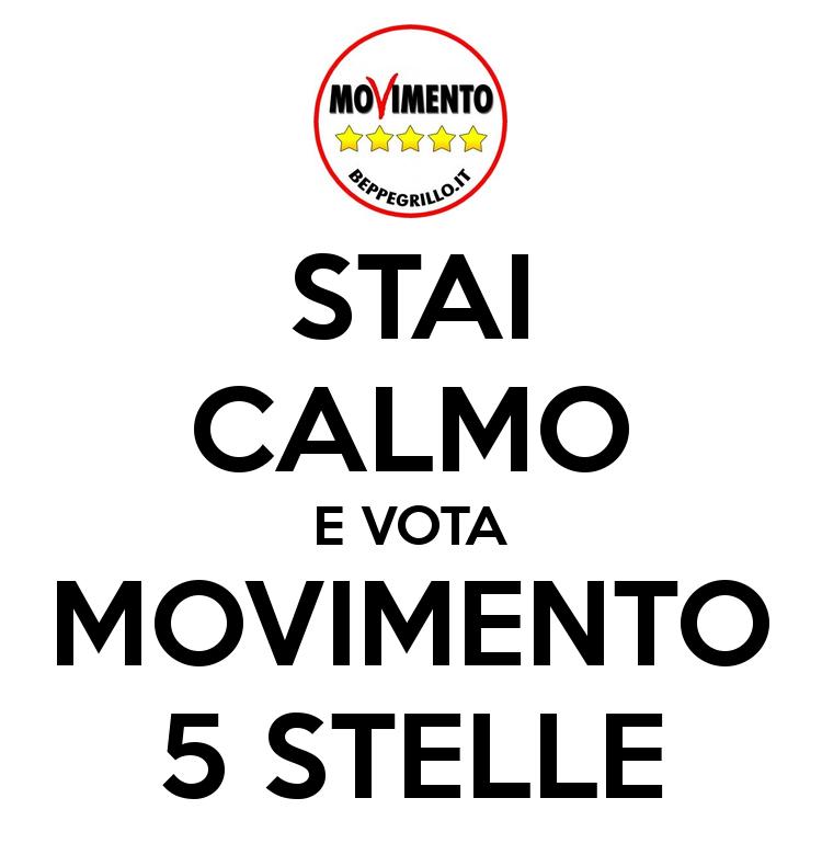 Presentazione lista candidati del movimento 5 stelle for Esponenti movimento 5 stelle