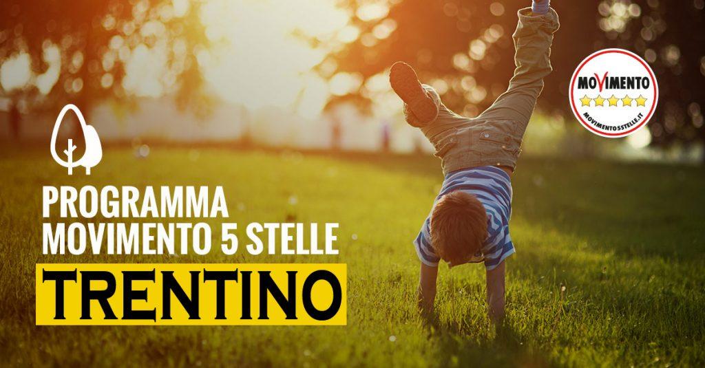 Programma Movimento 5 Stelle Trentino 2018