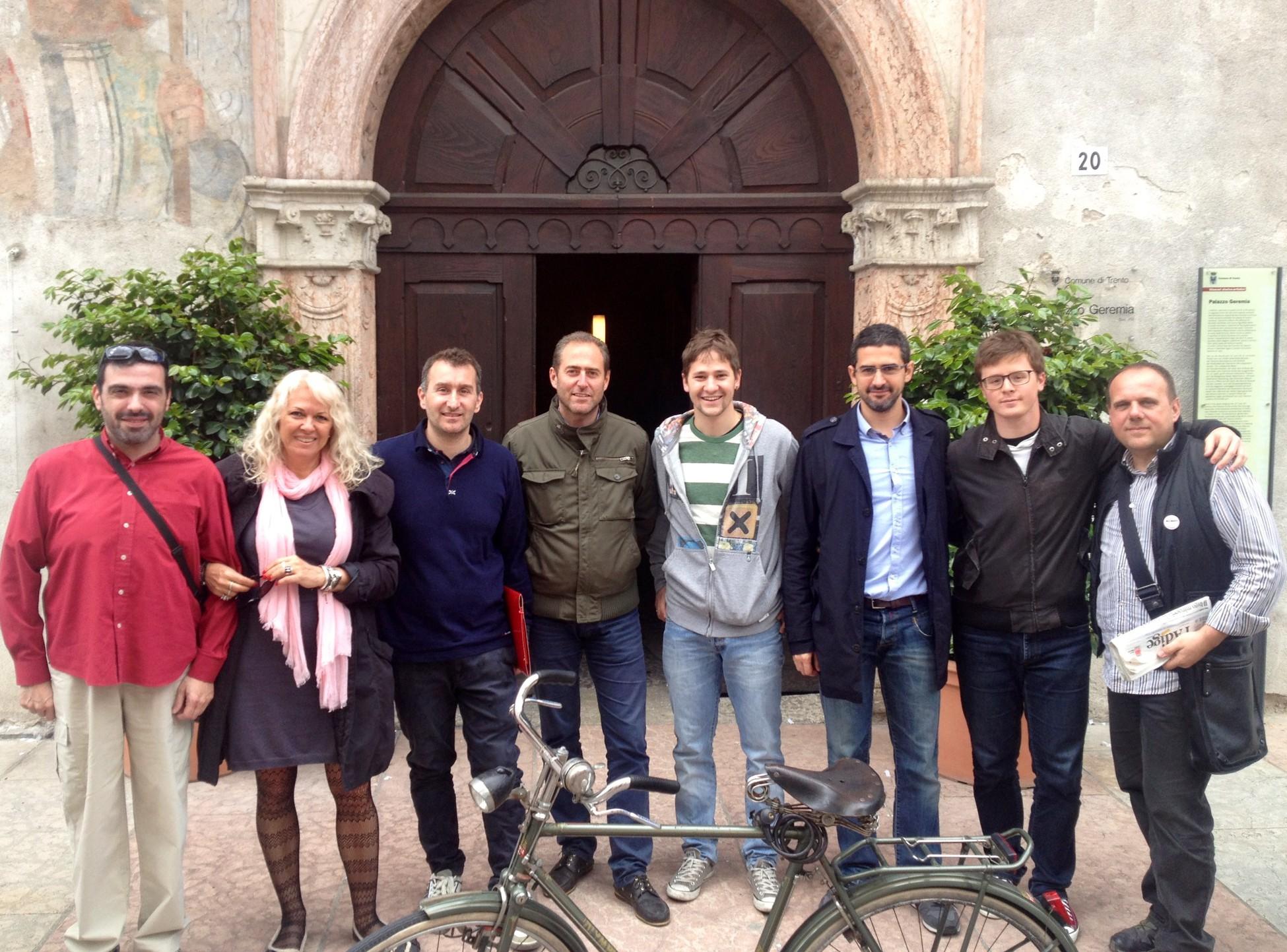 Read more about the article Consegna petizione al Sindaco di Trento