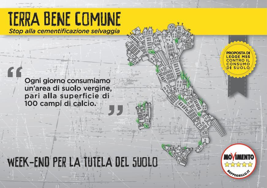 You are currently viewing M5S Call to Action – Stop al consumo del suolo