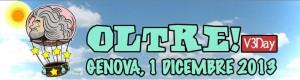 Read more about the article V3day: Trasferta a Genova – Domenica 1 dicembre 2013