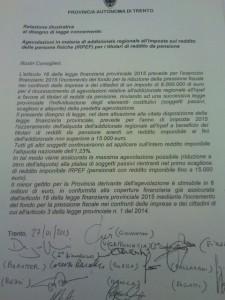 6 milioni di euro ai pensionati trentini: il frutto dell'emendamento M5S