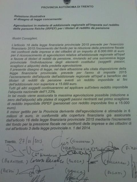 Read more about the article 6 milioni di euro ai pensionati trentini: il frutto dell'emendamento M5S