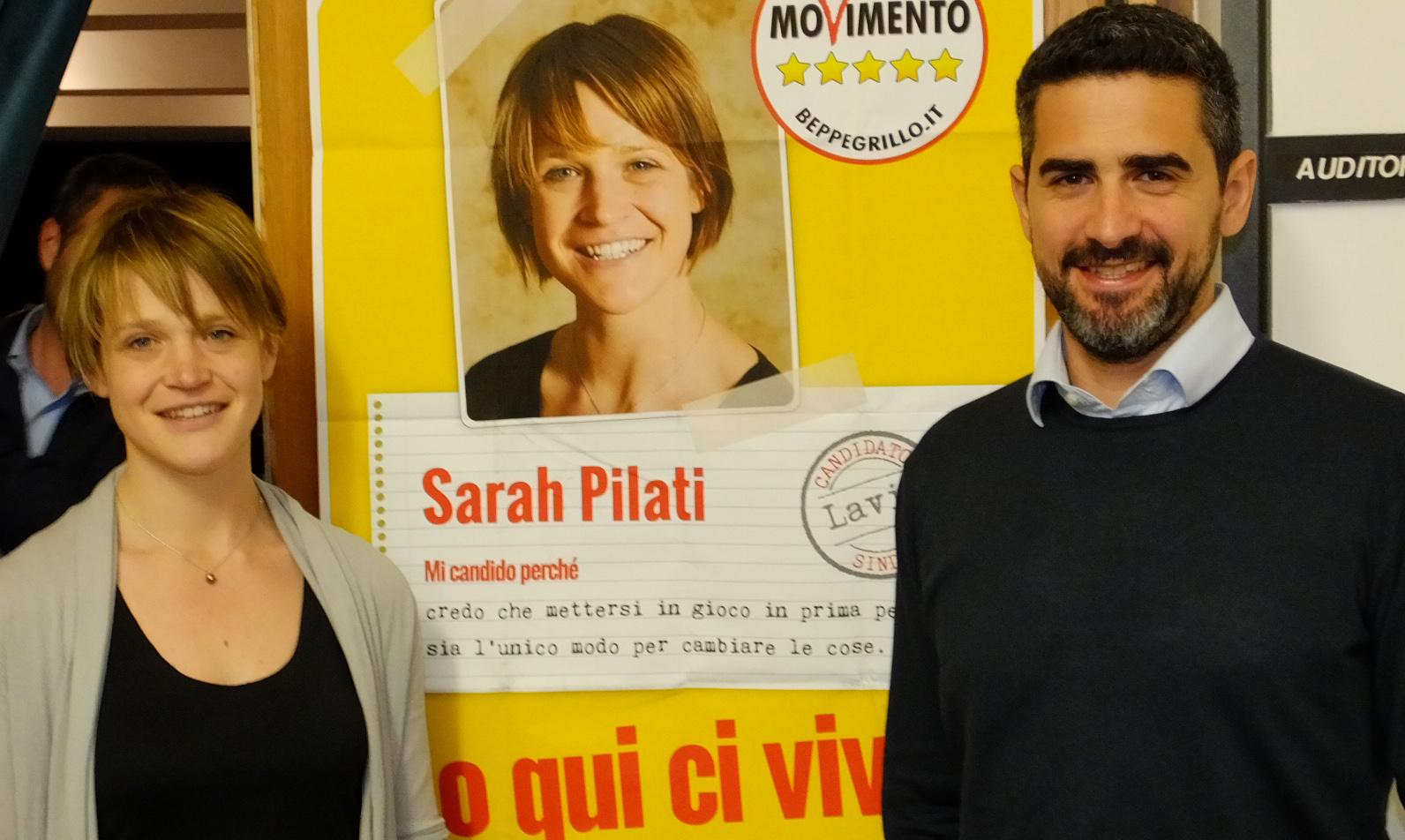 You are currently viewing 25 aprile a Lavis con Sarah Pilati e i Candidati M5S
