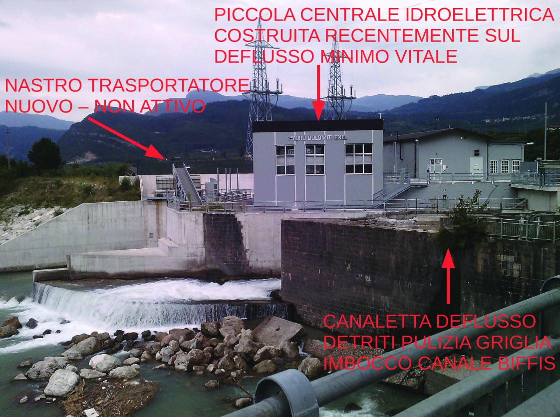 Scarico detriti nell'Adige, le regole valgono per tutti!