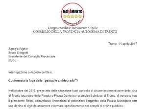 Read more about the article Pattuglie anti degrado in fuga