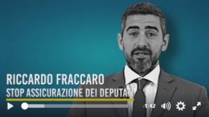 Read more about the article Vittoria M5S: cancellata l'assicurazione dei deputati a carico dei cittadini!