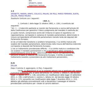 PD e SVP vogliono sabotare il ddl Richetti per incassare il vitalizio