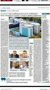 Read more about the article Su riforma sanitaria e ospedali periferici gli avversari inseguono il M5S