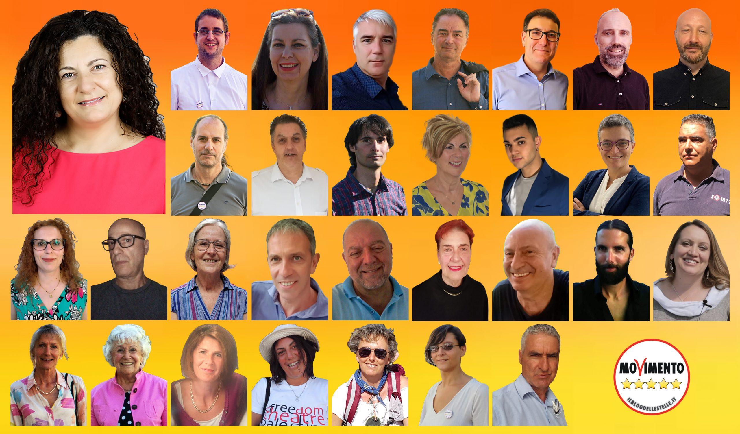 Read more about the article Candidati di lista M5S per elezioni comunali di Trento 2020