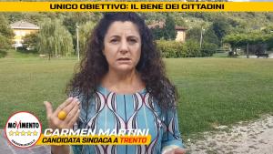 Video Presentazione Candidata Sindaca del Movimento 5 Stelle per il comune di Trento 2020