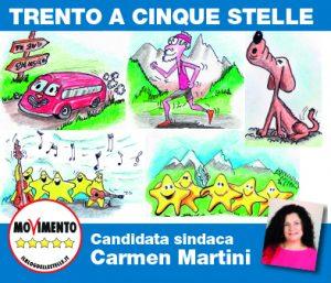 Read more about the article Volantino Iniziative M5S per Trento 2020