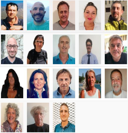 Candidati di lista M5S per elezioni comunali di Riva del Garda 2020