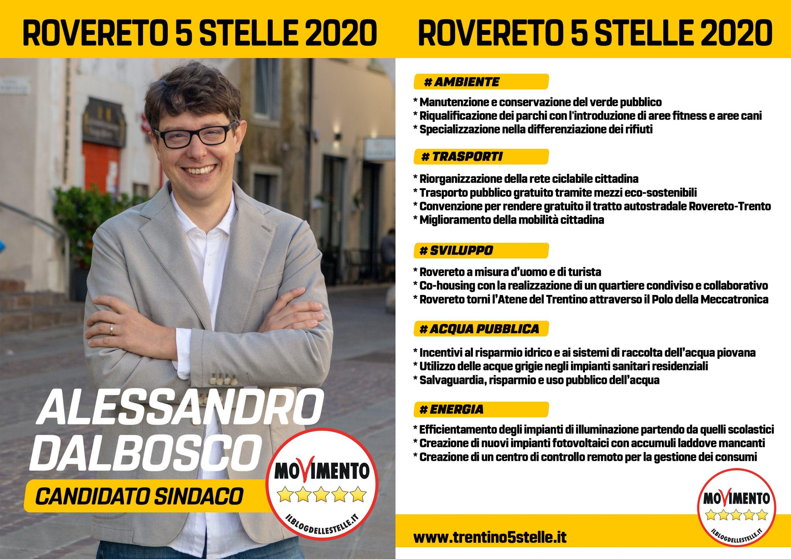 Programma M5S Rovereto 2020